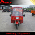 cargo tricycle with cabin/150cc scooter gas/china 3 wheeler