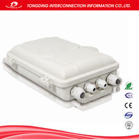 12 port fiber optic terminal box/ networks fiber distribution management system
