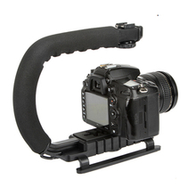 2018 Hot sale C shape video handheld gimbal camera stabilizer