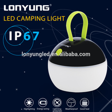 rechargeable outdoor lights camping lamp led plastic camping lantern