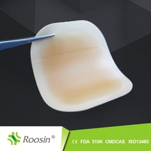 Hydrocolloid adhesive strip