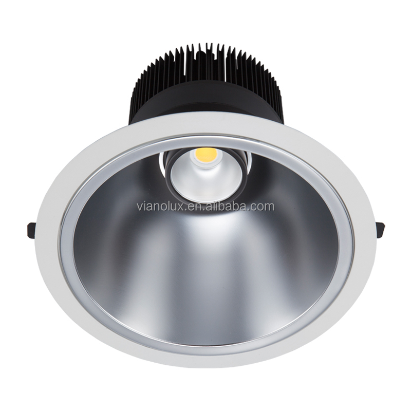 australia Anti-glare design UGR<22 LED downlight CRI80 8inch 60W 5000LM