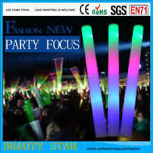 2016 Cheapest led foam stick,color changing light led foam stick for party,concert,event