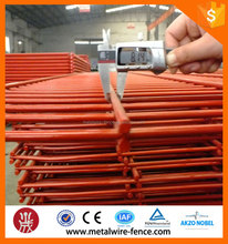 prefab antique pvc coated welded double wire fence for residential