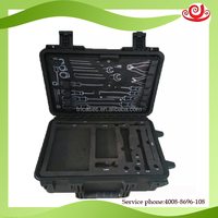 ShangHai factory storage battery waterproof hard plstic cases for light