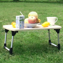 Outdoor mult-function suitcase folding wooden picnic table