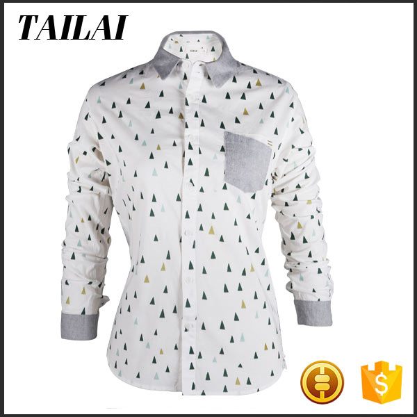 Garments supplier High quality Custom Beautiful cotton tops women india