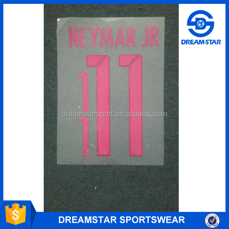 New Design Soccer Jersey Name Sheet