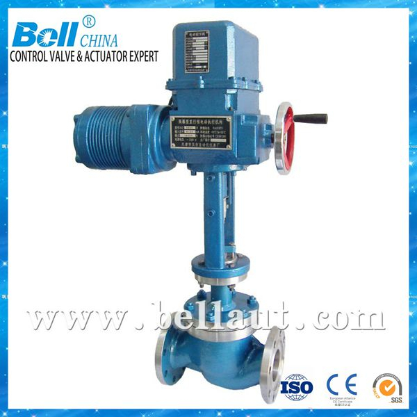 Electric actuator high pressure solenoid proportional control valve