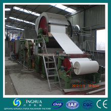 Good quality Low cost price tissue paper mill,tissue paper 2 line machine