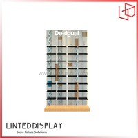 Custom nike shoe display rack wooden ikea shoe rack