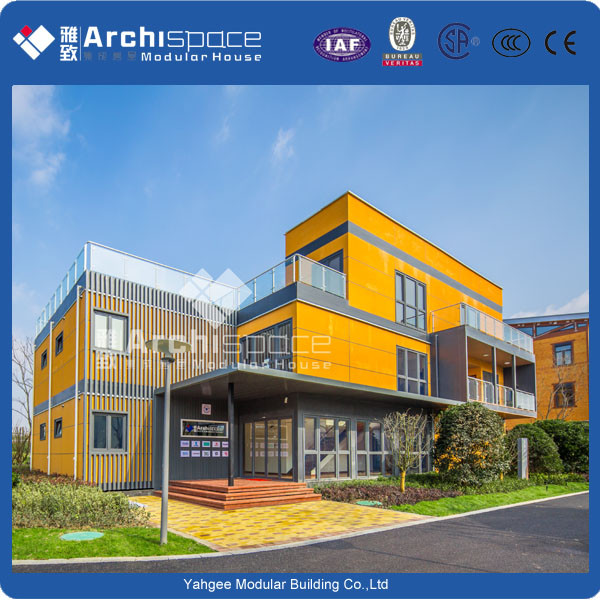 Prefabricated house with modular hotel