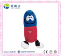 Plush Electronic Pill Doll with uncontrollable laughter