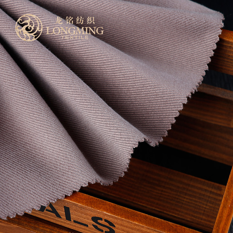 Hot sale different design fashionable 100 polyester twill fabric for suiting