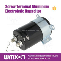 ISO9001 Screw Terminal UCGHA Aluminum Capacitor for Shunt