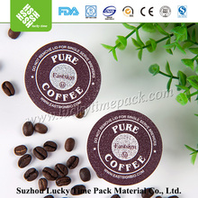Food Safe Hot Coffee K Cup Capsules Sealing Foil