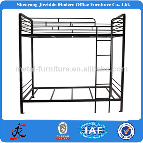 furniture adult heavy duty metal steel wood children three bunk bed furniture
