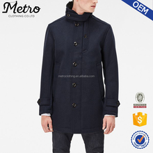Hot Sale Good Quality New Style Men's Wool Coat