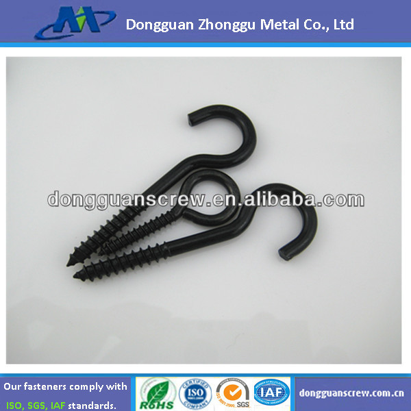 baking black zinc plated special eye screw ball head bolt and fastener