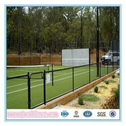 CE Certificate high quality top security chian link fence (professional manufacturer & factory price)