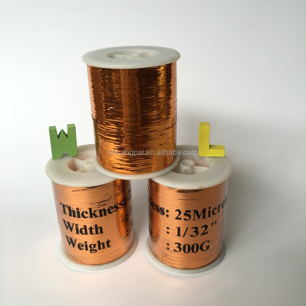 copper lurex yarn for winding machine