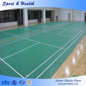 Portable PVC Flooring Badminton Court Mat