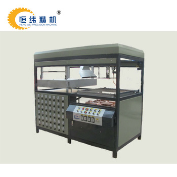 PVC Thermo Plastic Manual Vacuum Forming Machine For Blister Packaging