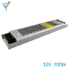 100W 8A 12V Small Size Easy To Install And Hide Bar KTV LED Light Box Lamp Box Home Decoration Special Switching Power Supply