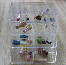 cheap table top acrylic cosmetic/makeup display case