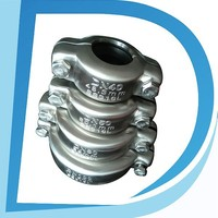 "Easy Installation 4"" DN100 108mm-114mm spring clip connector for pipe joint in industrial"