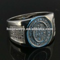 Micro Pave Jewelry & 925 Silver Ring with Micro Pave CZ Stones
