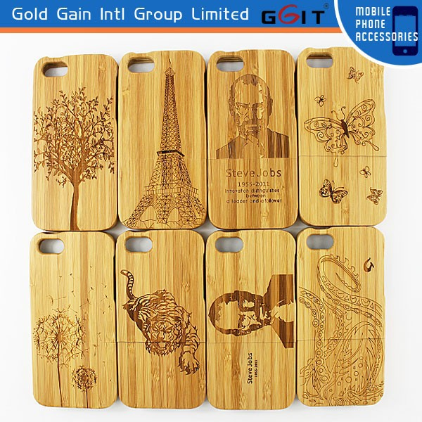 [GGIT] 2015 Hot Sell for iPhone 5G Wood Cell Phone Case Custom for iPhone Case