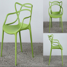 Hot sales customized plastic bright colored chairs