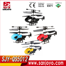 QS5012 2CH 2.4G Plastic Semi-micro RC Heli with Romote Control toys helicopter