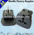 US Safety AC electric travel adaptor plug in 250V 15A