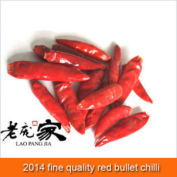 fine quality red bullet chilli