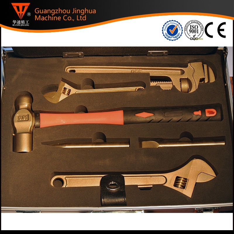 Carbon Steel Heat Treatment Function Spanner Adjustable Impact Torque Wrench