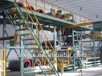 SBS modified bitumen hot melt waterproofing membrane torches production line