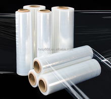 professional manufacture transparent casting hand machine plastic pe stretch shrink cling film
