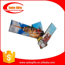 Promotional customized flexible rubber Magnetic bookmark
