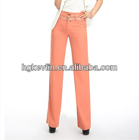 2013 Newest Design Women Wide Leg Pants