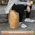 Wholesale promotional custom school durable strong washable kraft brown paper backpack