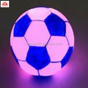 plastic toy LED ball for kids ICTI factory