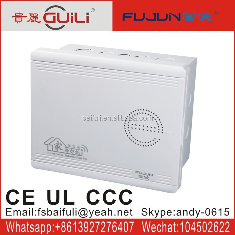 Home smart switch distribution box network connection box