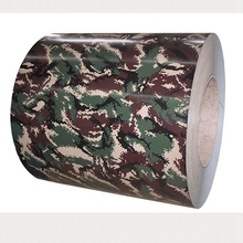 camouflage color coated steel sheet and coil for roofing