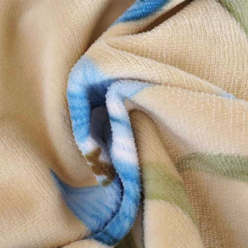 Super Soft Waterproof Cheap Laminated 100 Polyester Coral Fleece Fabric