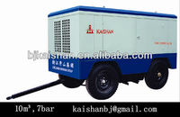 CVFY-10/7 mobile diesel engine piston air compressor for mining