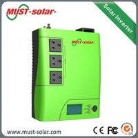 Must PV1100 Plus solar energy saving 700Ah 1000Ah 1500Ah inverter with battery charger for home use lights kit