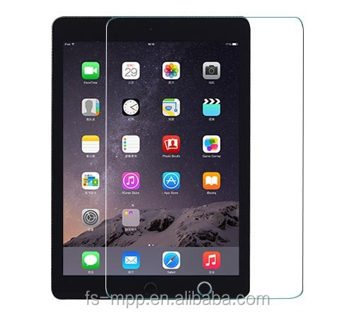 2015 hot sale 0.33 tempered glass for ipad air 2