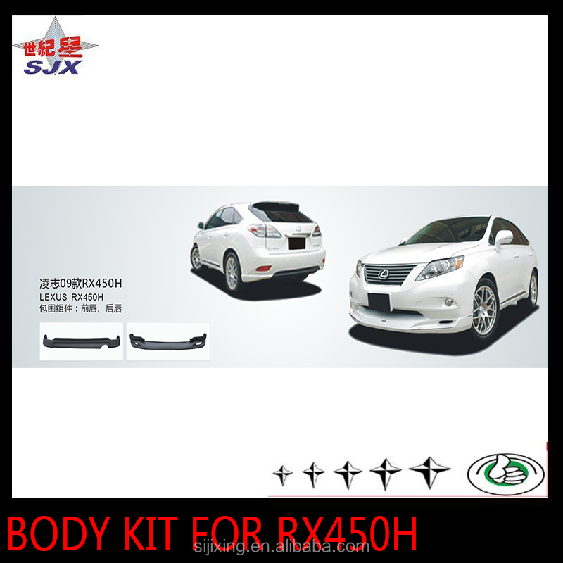Front and rear bumper guard for lexus RX450H body kit